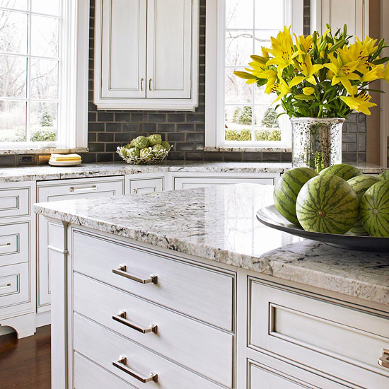 The Granite Benchtop Company White Kitchen 1