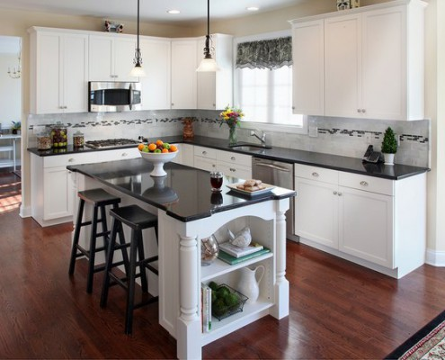 The Granite Benchtop Company White Kitchen 5