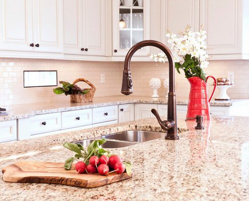 The Granite Benchtop Company White Kitchen 7