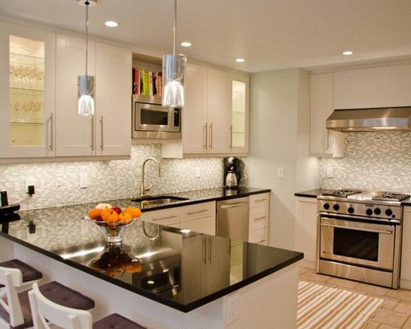 The Granite Benchtop Company White Kitchen 9